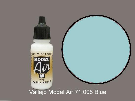 Vallejo 17ml MA008 Model Air - 008  Pale Blue