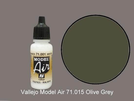 Vallejo 17ml MA015 Model Air - 015 Dark Green RLM71