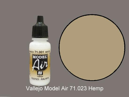 Vallejo 17ml MA023 Model Air - 023  Hemp