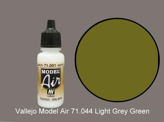 Vallejo 17ml MA044 Model Air - 044  Light Grey Green