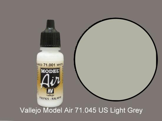 Vallejo 17ml MA045 Model Air - 045  US Grey Light