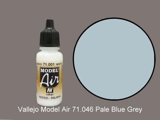 Vallejo 17ml MA046 Model Air - 046  Pale Grey Blue