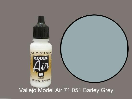 Vallejo 17ml MA051 Model Air - 051  Barley Grey