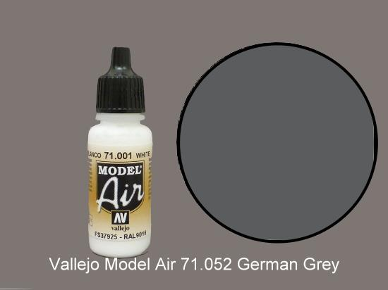 Vallejo 17ml MA052 Model Air - 052  German Grey