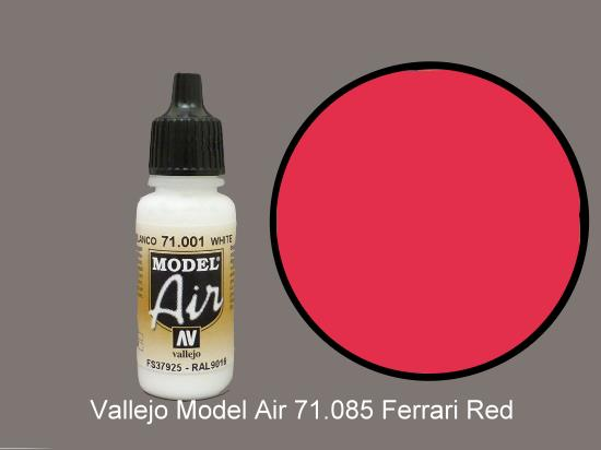 Vallejo 17ml MA085 Model Air - 085  Italian Red