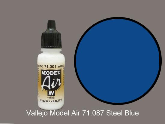 Vallejo 17ml MA087 Model Air - 087  Dark Sea Blue