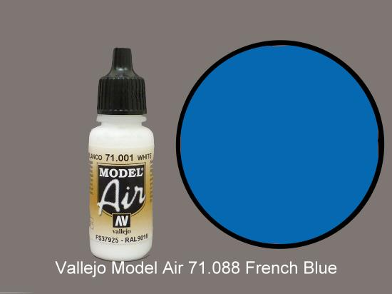Vallejo 17ml MA088 Model Air - 088  French Blue