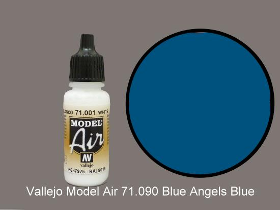 Vallejo 17ml MA090 Model Air - 090  Blue Angel Blue