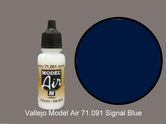 Vallejo 17ml MA091 Model Air - 091  Insignia Blue