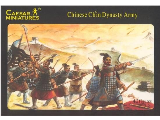 Caesar Miniatures - Chinese Chin Dynasty Army 1/72 004