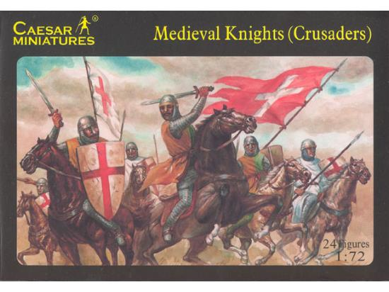 Caesar Miniatures 1/72 017 Medieval Knights (Crusaders)