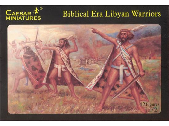 Caesar Miniatures 1/72 022 Biblical Era Libyan Army