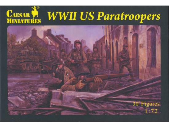 Caesar Miniatures 1/72 076 WWII US Paratroopers