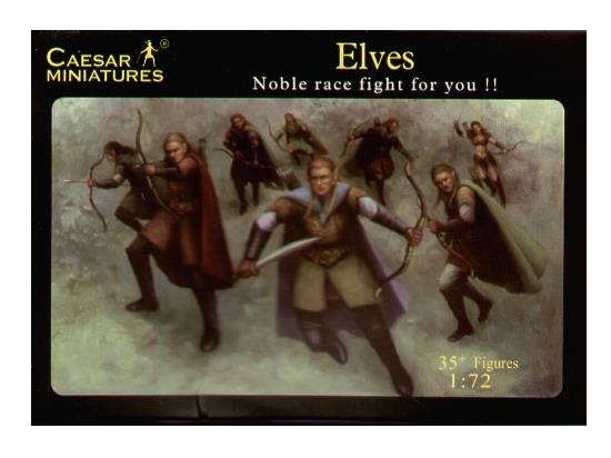 Caesar Miniatures 1/72 102 Elves