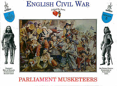 Call to Arms - Parliament Musketeers 1/32 #05