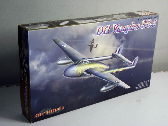 Dragon 1/72 5085 DH Vampire FB.5