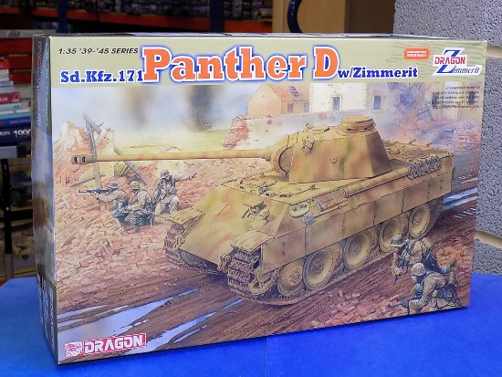 Dragon - Sd. Kfz. 171 Panther D with Zimmerit 1/35 #6428