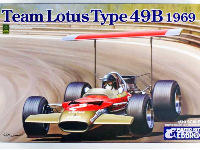 Ebbro 1/20 005 Team Lotus 49B 1969
