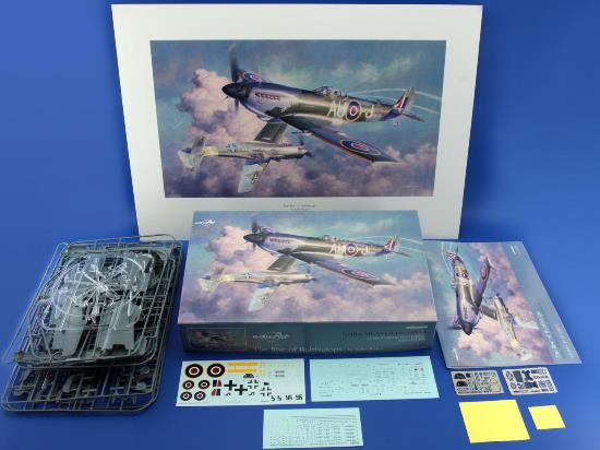 Eduard 1/48 11100 The Rise of Bubbletops -  Spitfire Mk.XVI and Fw 190D-9  + POSTER