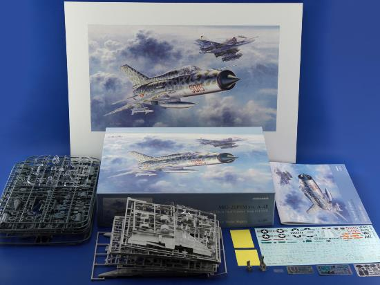 Eduard 1/48 11101 The Sound of Silence - A-4 and MiG-21PFM + POSTER