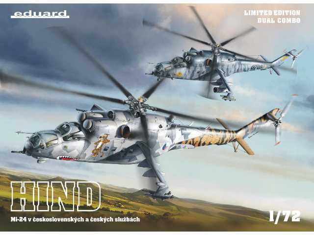 Eduard 1/72 2116 Mi-24 in Czech and Czechoslovak service - Dual Combo