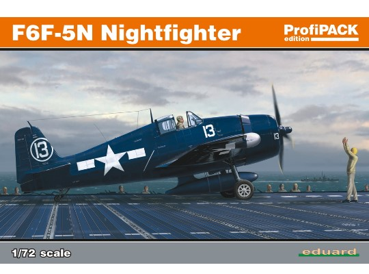 Eduard 1/72 7079 F6F-5N Nightfighter
