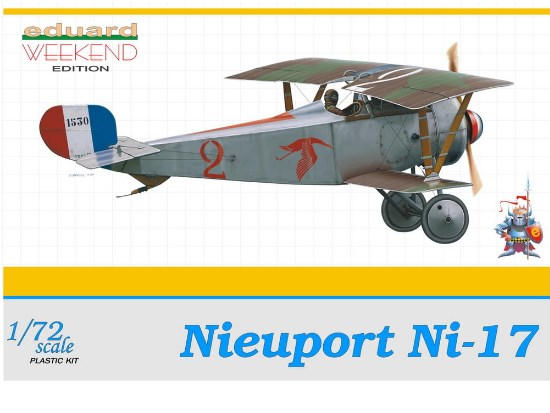 Eduard 1/72 7403 Nieuport Ni17 - Weekend Edition