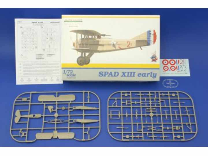 Eduard 1/72 7411 Spad XIII Early - Weekend Edition