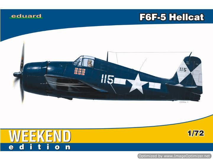 Eduard 1/72 7415 F6F-5 Hellcat - Weekend Edition