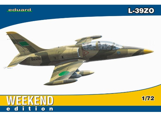 Eduard 1/72 7416 L-39ZO - Weekend Edition