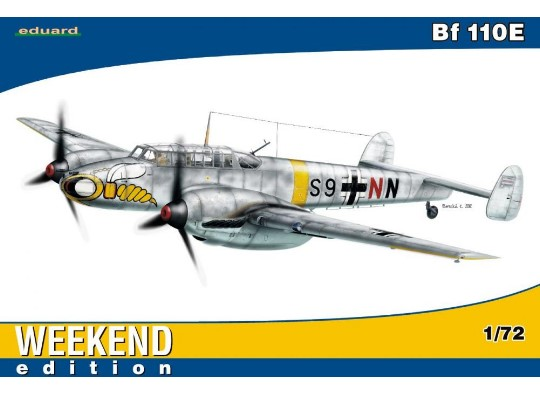 Eduard 1/72 7419 Bf 110E - Weekend Edition