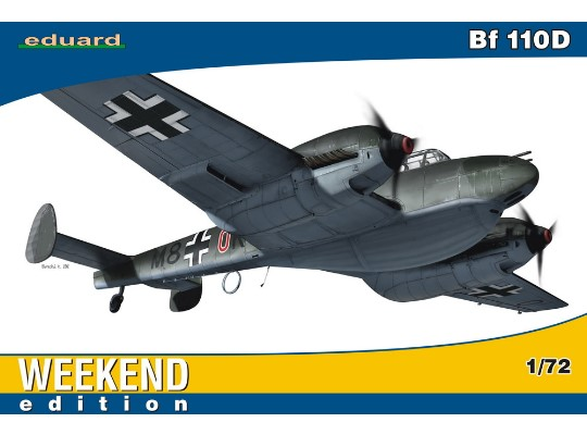 Eduard 1/72 7420 Bf 110D - Weekend Edition