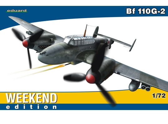 Eduard 1/72 7421 Bf110G-2 - Weekend Edition