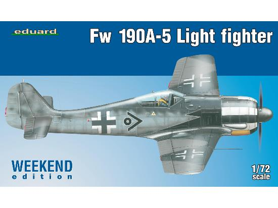 Eduard 1/72 7439 Fw 190A-5 Light Fighter Weekend Edition