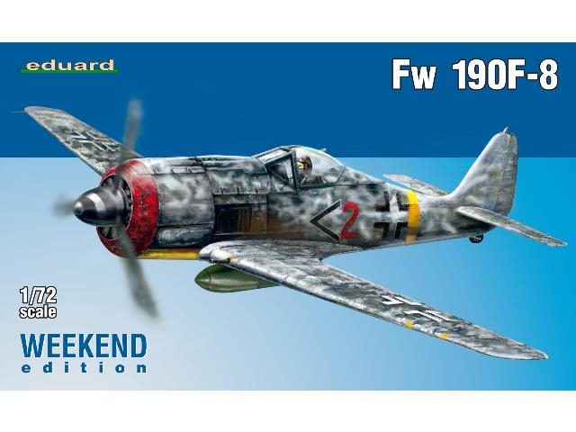 Eduard 1/72 7440 Fw 190F-8 - Weekend Edition