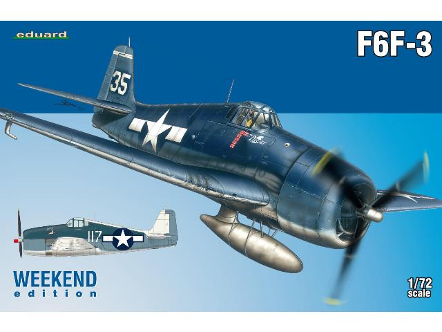 Eduard 1/72 7441 F6F-3 - Weekend Edition