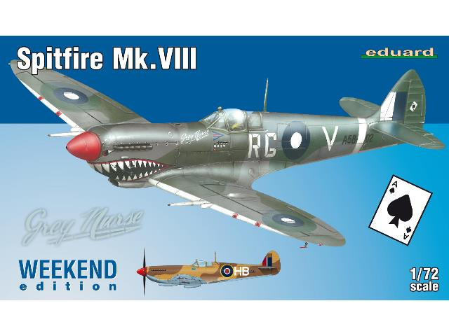 Eduard 1/72 7442 Spitfire Mk. VIII - Weekend Edition