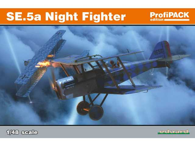 Eduard 1/48 82133 SE.5a Night Fighter  - Profipack Edition