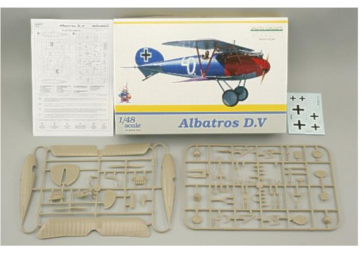 Eduard 1/48 8407 Albatros DV - Weekend Edition