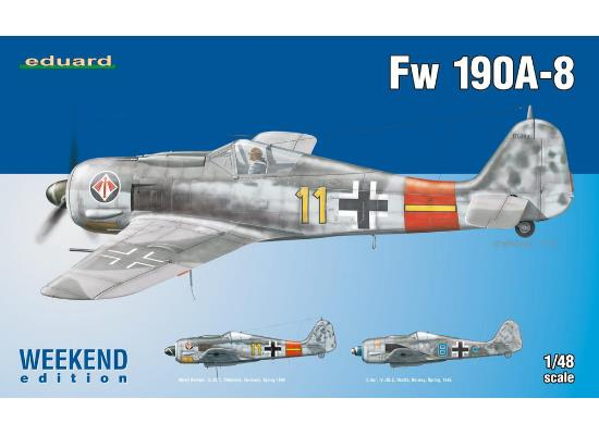 Eduard 1/48 84120 Fw 190A-8 - Weekend Edition