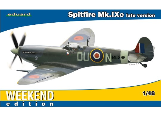 Eduard 1/48 84136 Spitfire Mk. IXc late version - Weekend Edition