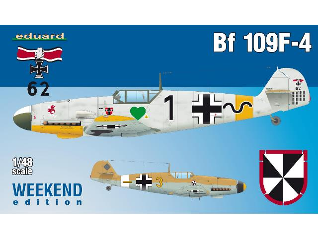 Eduard 1/48 84146 Bf 109F-4 - Weekend Edition