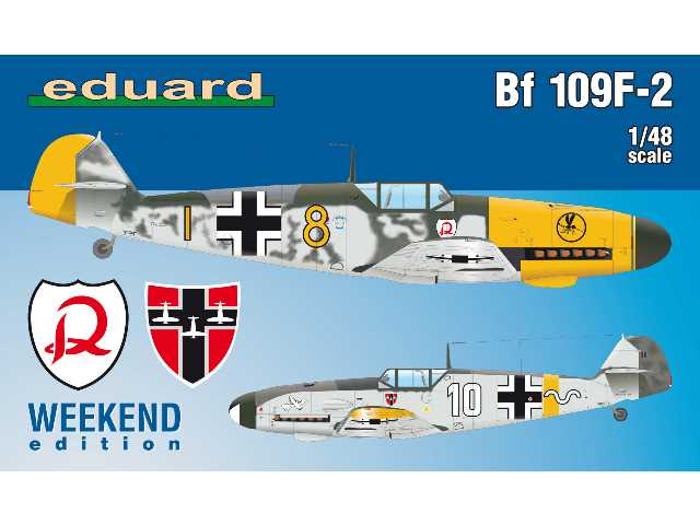 Eduard 1/48 84147 Bf 109F-2 - Weekend Edition