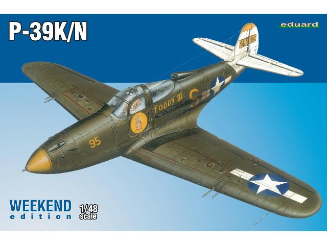 Eduard 1/48 84161 P-39K/ N 1/48 Airacobra - Weekend Edition