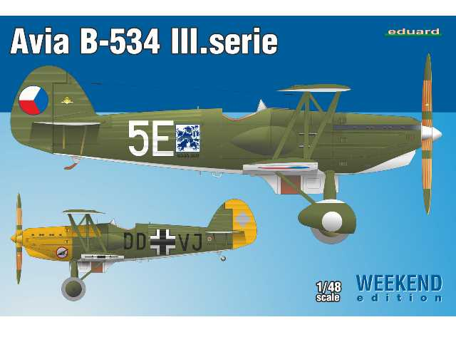 Eduard 1/48 8478 Avia B-534 III Serie - Weekend Edition