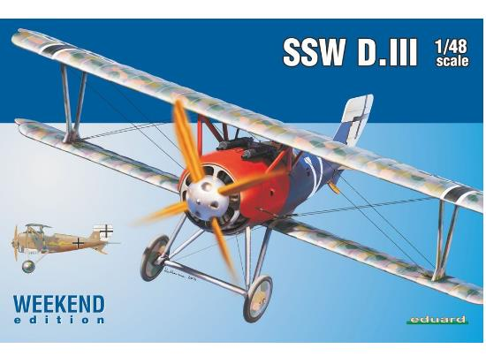 Eduard 1/48 8484 SSW D. III - Weekend Edition
