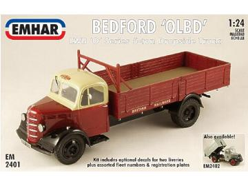 Emhar 1/24 2401 Bedford OLBD 'O' Series Long Wheel Base 5 ton Dropside Truck