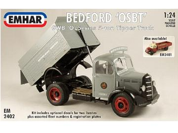 Emhar 1/24 2402 Bedford OSBT 'O' Series Short Wheel Base 5-ton Tipper