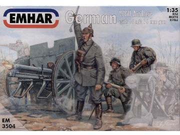 Emhar 1/35 3504 WWI German Artillery