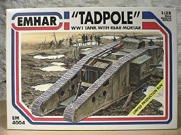 "Emhar 1/35 4004 WWI Battle Tank ""Tadpol"""